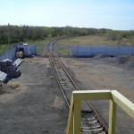 Железнодорожная ветка нефтебазы