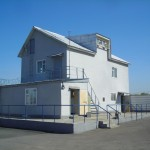 Административно-бытовое здание нефтебазы